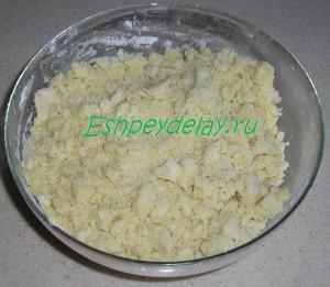 тесто песочное для печенья домашнего