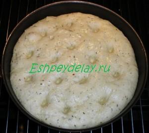 Картофельная фокачча в духовке