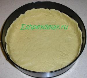 тесто для пирога из мандаринов в форме для запекания