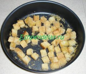 запеченные хлебные сухари