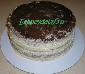домашний торт птичье молоко с манкой