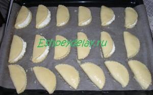 сочни на листе для запекания