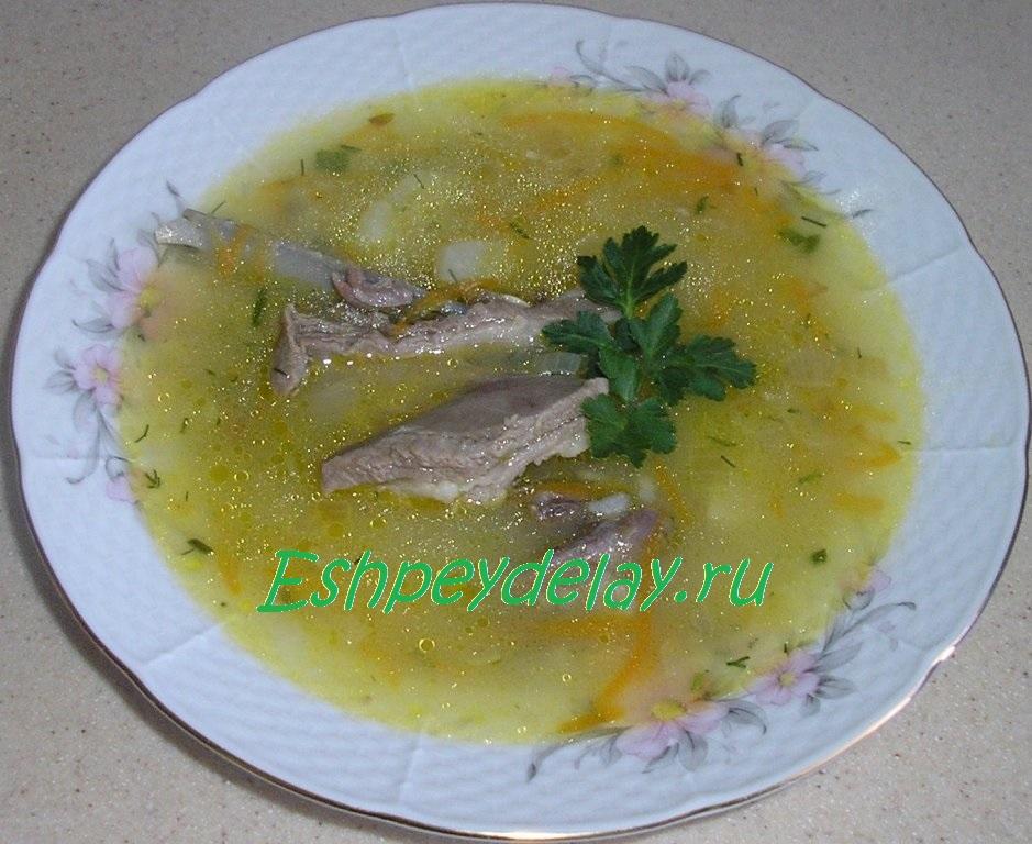 Суп из баранины с рисом пошагово