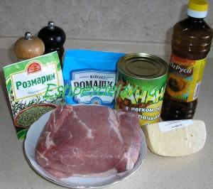 Рецепт мяса с ананасами в духовке
