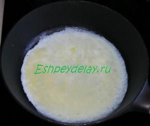 тесто для бризолей в сковороде