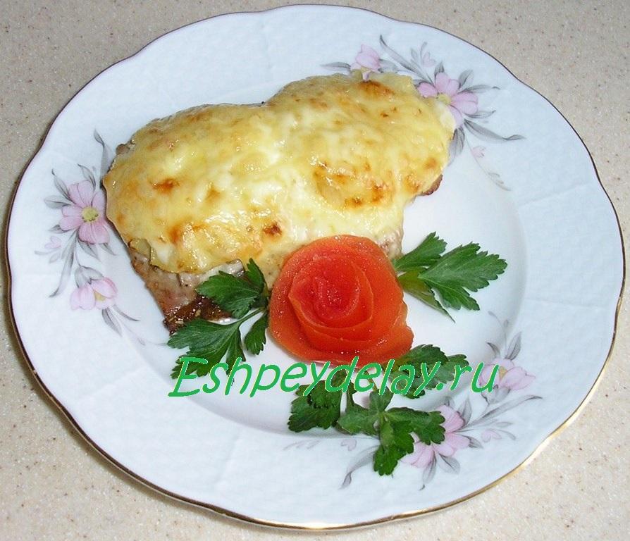утка с ананасами в духовке рецепт с фото