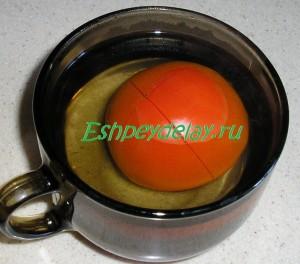 помидор в кипятке