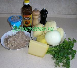 Рецепт картофеля фаршированного фаршем
