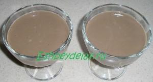 кофе с какао и желатином