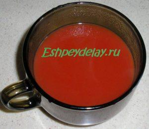 резведенная томатная паста
