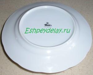 тарелка накрытая тарелкой