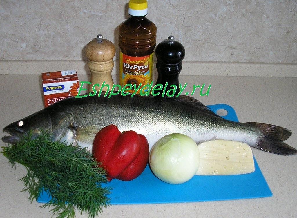 рецепт судака запеченного в духовке