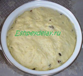 готовое тесто для александрийского кулича
