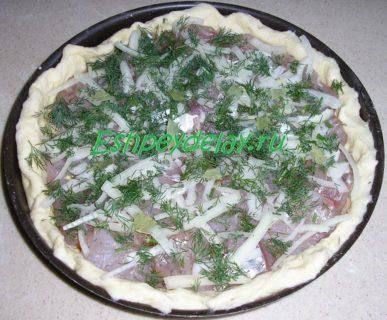 начинка пирога с судаком