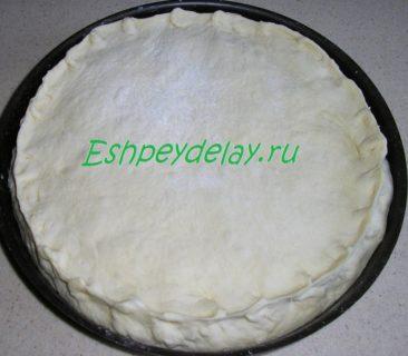 пирог с судаком и картошкой