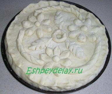 рыбный пирог из судака