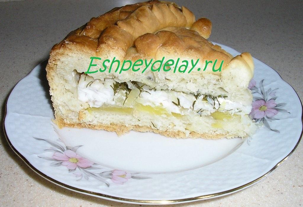 рыбный пирог из судака видео