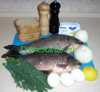 Рецепт рыбного рулета из карася