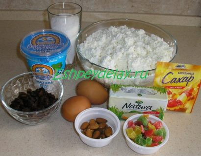 Рецепт заварной пасхи из творога