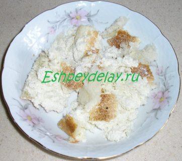белый хлеб со сливками