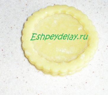форма печенья из теста
