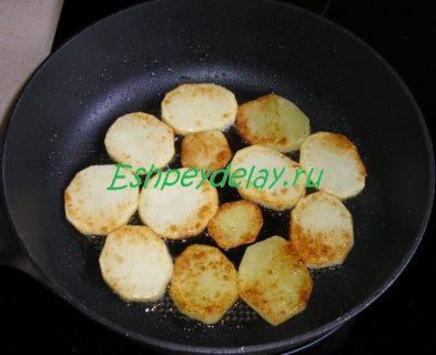 картофель обжаренный до золотистой корочки