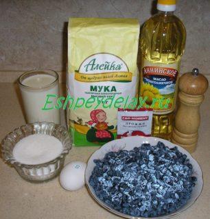 Рецепт пирожков с жимолостью