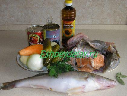 рецепт рыбной солянки