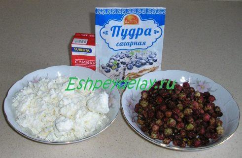 Рецепт десерта из лесной клубники