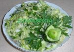 салат из пекинской капусты с огурцом