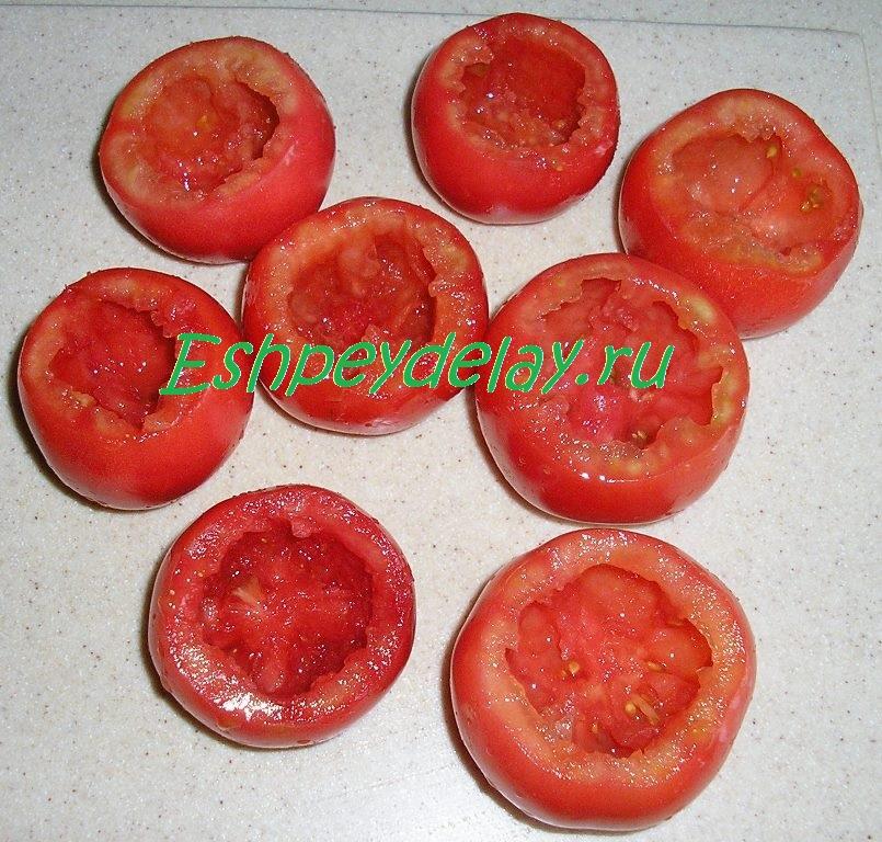 помидоры без сердцевины
