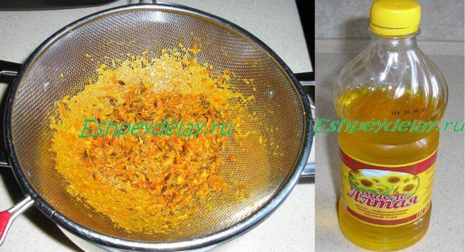 Облепиховое масло из жмыха в домашних условиях