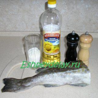 рецепт трески на сковроде