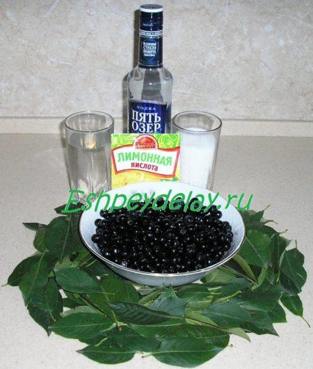 рецепт ликера из черноплодной рябины