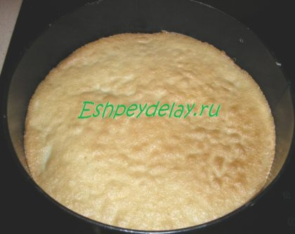 бисквит для торта
