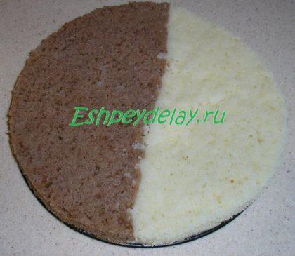 бисквит для торта панчо с ананасами