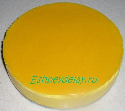 желейный торт из тыквы