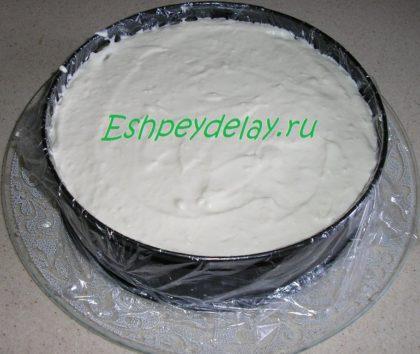 крем для торта в форме для запекания