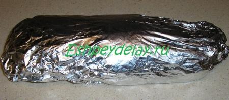 kurinyj rulet s omletom foto 9
