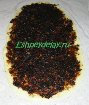 начинка из чернослива на тесте