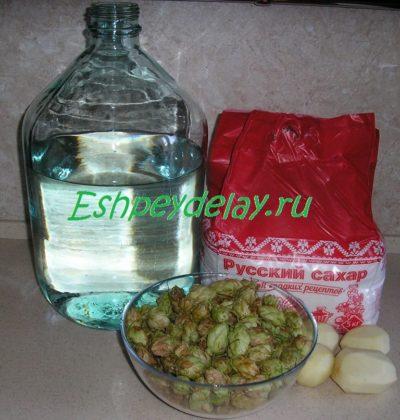 Рецепт домашнего пива на хмелю