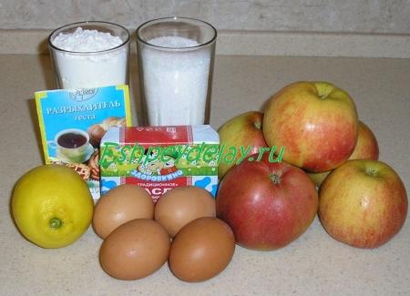 Рецепт польского яблочного пирога