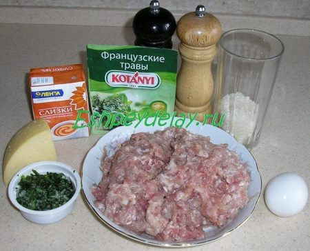 Рецепт тефтелей в сливочном соусе в духовке