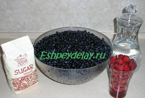 Рецепт вина из черники