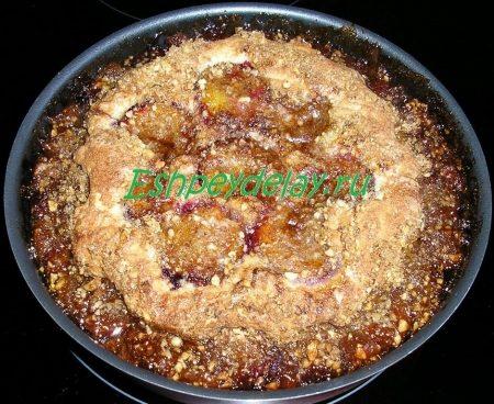 сливовый пирог в духовке
