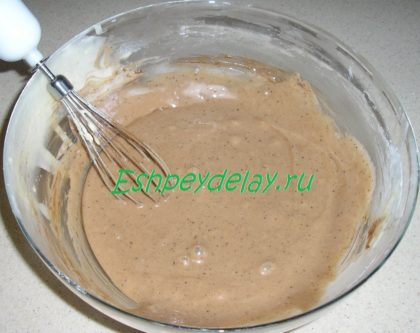 тесто для торта с какао