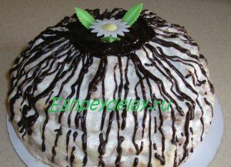 торт панчо с ананасами