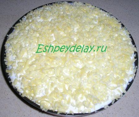 верхний слой пирога