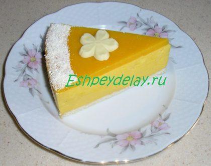 вкусный торт из тыквы