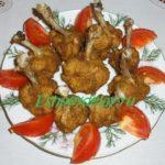 куриные крылья chicken lollipops